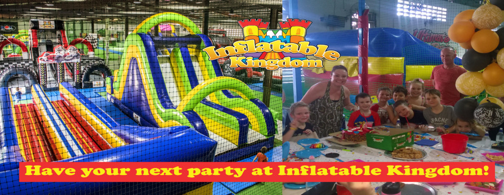 Party Banner Inflatable Kingdom