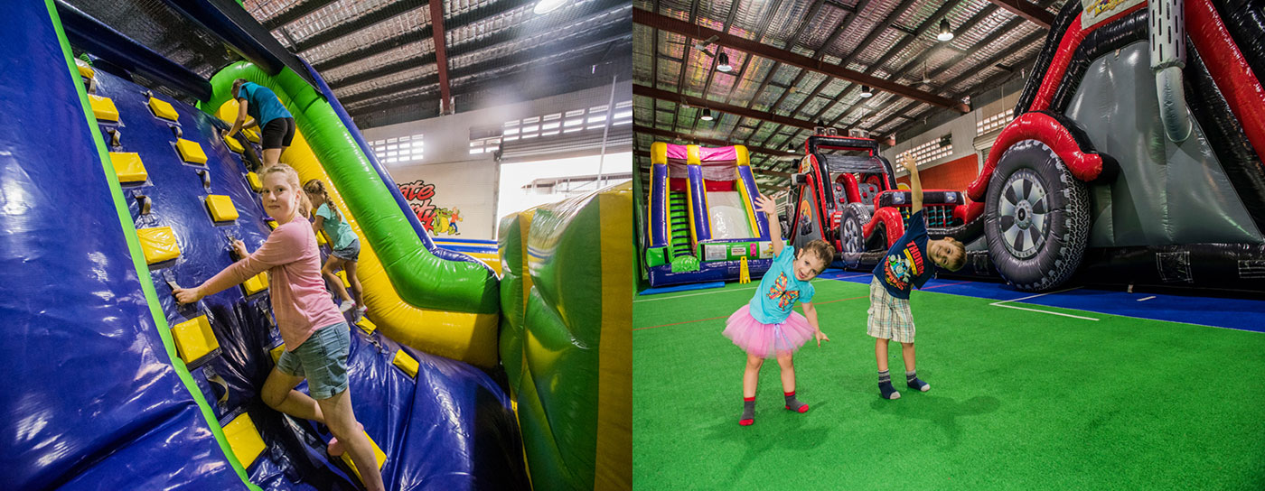 Come and have fun at Inflatable Kingdom Cairns